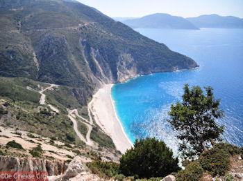 Myrtos strand - Kefalonia - Foto 150 - Foto van De Griekse Gids