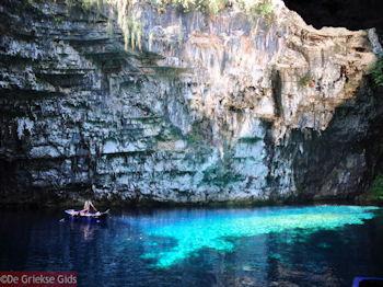 Melissani grot - Kefalonia - Foto 204 - Foto van De Griekse Gids